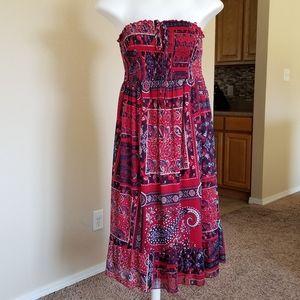 Maurices Bandana Paisley Dress